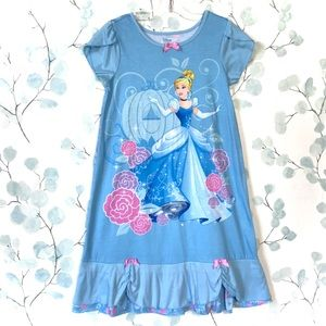 Disney Cinderella Princess Blue Dress Nightgown